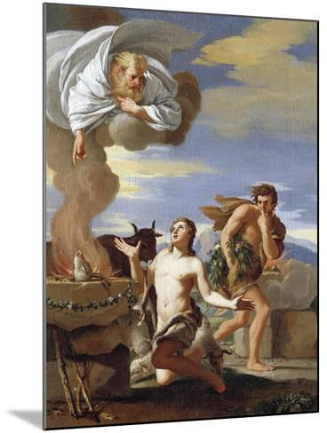 The Sacrifice of Abel, 1634-Charles Mellin-Mounted Giclee Print