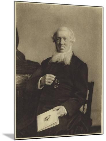 George Rawlinson--Mounted Photographic Print