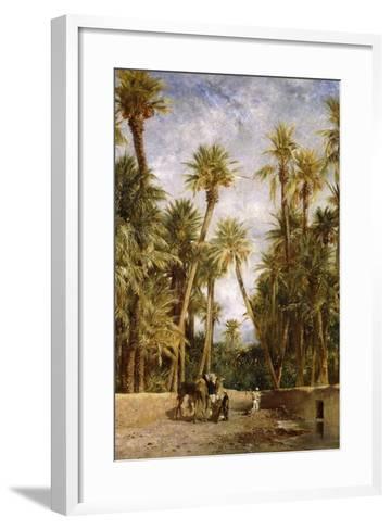 Oasis at Lagrount-Eugene Fromentin-Framed Art Print