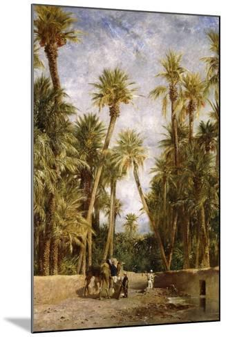 Oasis at Lagrount-Eugene Fromentin-Mounted Giclee Print