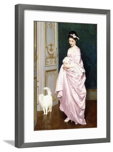 Feline Affection, 1872-Joseph Caraud-Framed Art Print