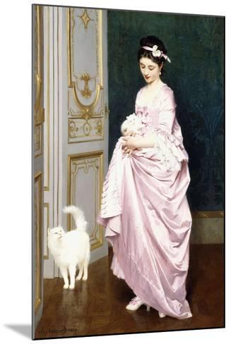 Feline Affection, 1872-Joseph Caraud-Mounted Giclee Print