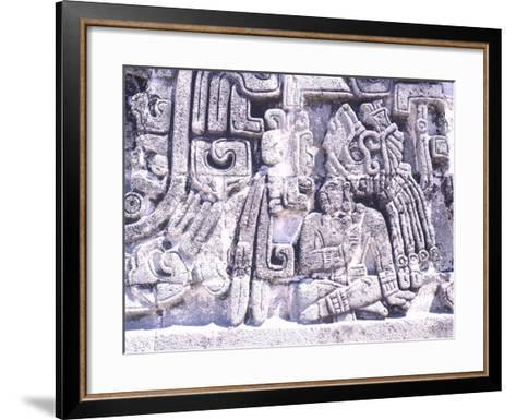 Pyramid of Snakes in Xochicalco--Framed Art Print