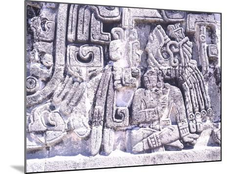 Pyramid of Snakes in Xochicalco--Mounted Photographic Print