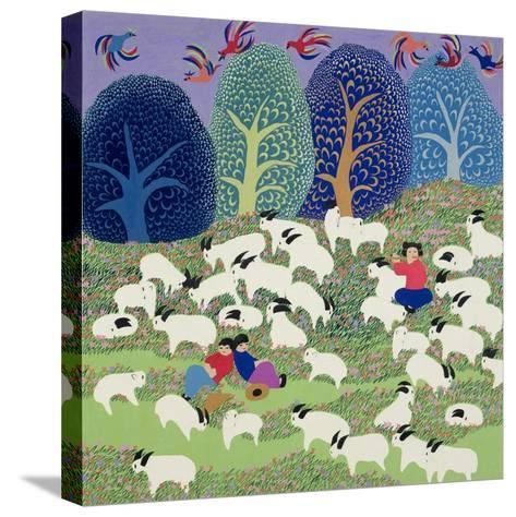 Young Shepherd, 1989--Stretched Canvas Print