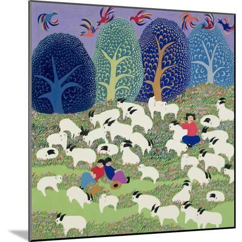 Young Shepherd, 1989--Mounted Giclee Print