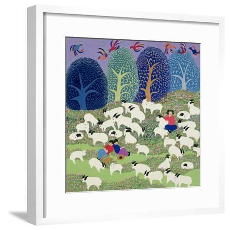 Young Shepherd, 1989--Framed Art Print