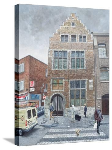 Pieter Brueghel's House in Brussels, 1996-Huw S. Parsons-Stretched Canvas Print