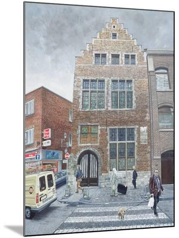 Pieter Brueghel's House in Brussels, 1996-Huw S. Parsons-Mounted Giclee Print