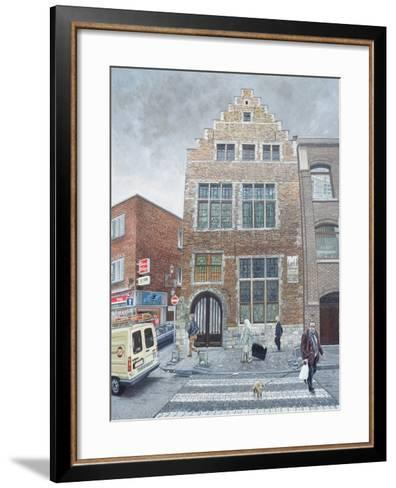 Pieter Brueghel's House in Brussels, 1996-Huw S. Parsons-Framed Art Print