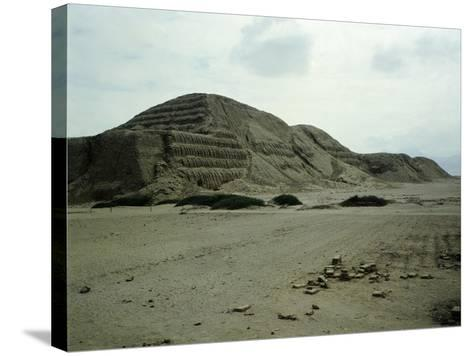 The Pyramid of the Sun--Stretched Canvas Print