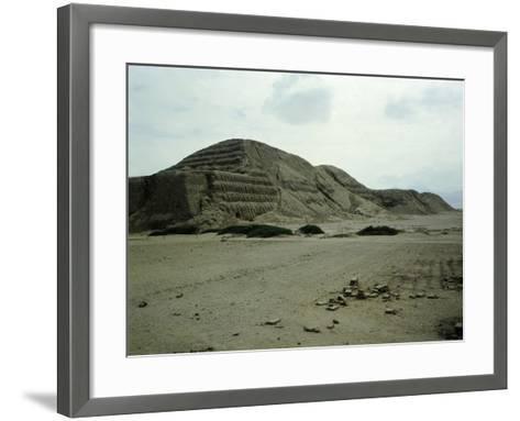 The Pyramid of the Sun--Framed Art Print