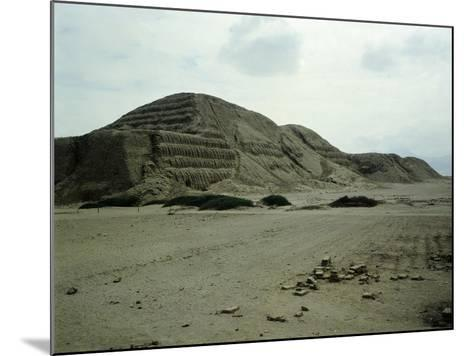 The Pyramid of the Sun--Mounted Giclee Print