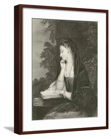 Maiden Meditation-Gilbert Stuart Newton-Framed Art Print