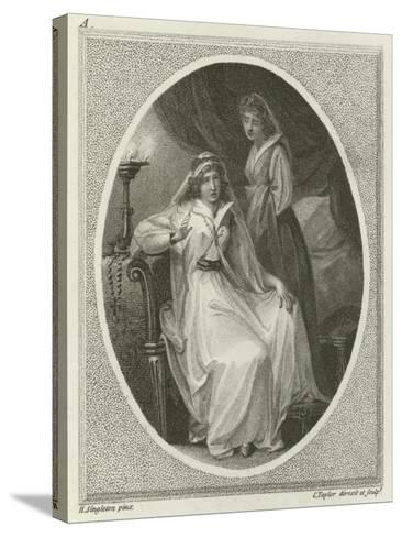 Scene from Othello, by William Shakespeare-Henry Singleton-Stretched Canvas Print