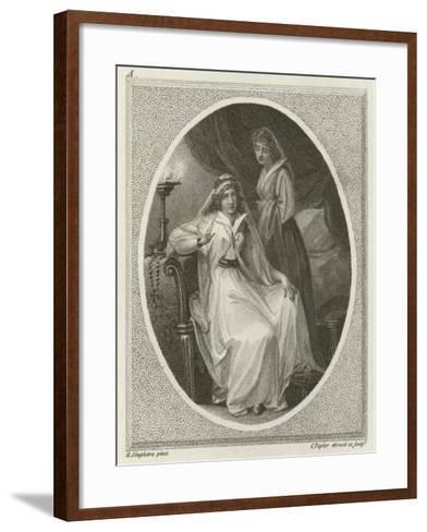 Scene from Othello, by William Shakespeare-Henry Singleton-Framed Art Print
