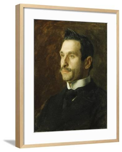Portrait of Francesco Romano, 1904-Thomas Cowperthwait Eakins-Framed Art Print
