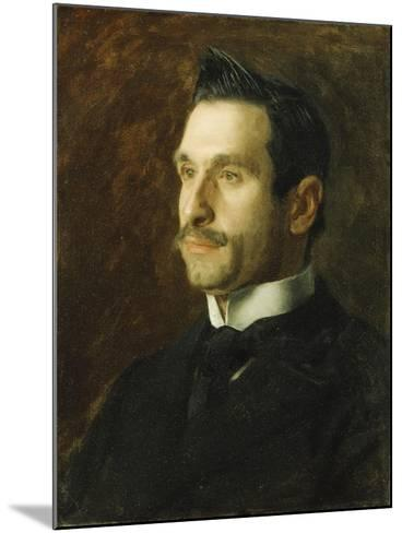 Portrait of Francesco Romano, 1904-Thomas Cowperthwait Eakins-Mounted Giclee Print