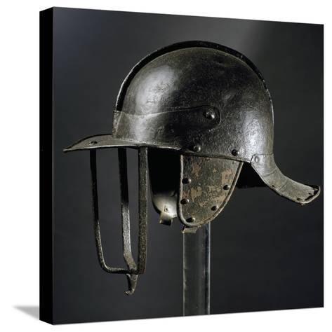 Burgonet Helmet--Stretched Canvas Print