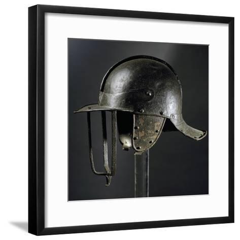 Burgonet Helmet--Framed Art Print