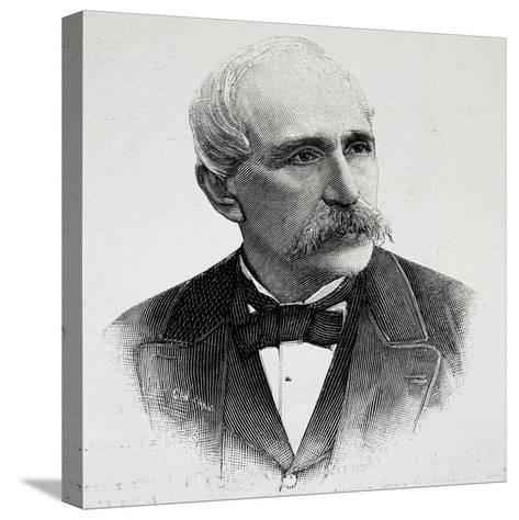Portrait of Georgios Averof--Stretched Canvas Print