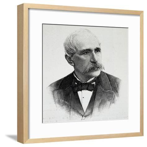 Portrait of Georgios Averof--Framed Art Print