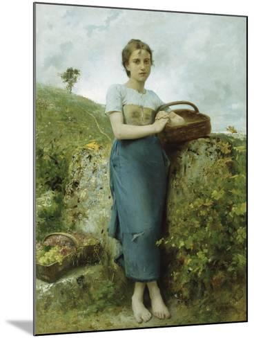 The Grape Picker, 1895-Leon Bazile Perrault-Mounted Giclee Print