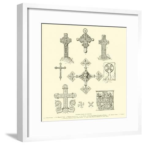 Various Forms of Crosses--Framed Art Print