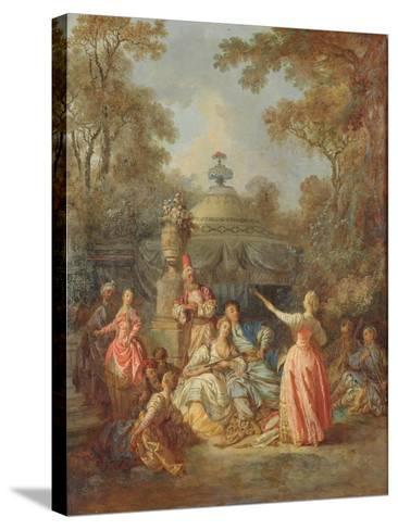 Russian Concert, 1770-Jean Baptiste Leprince-Stretched Canvas Print