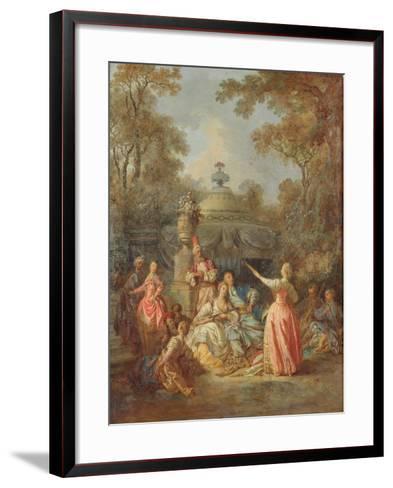 Russian Concert, 1770-Jean Baptiste Leprince-Framed Art Print