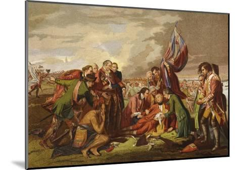 Death of Wolfe-Benjamin West-Mounted Giclee Print
