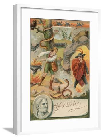 Der Freischuetz--Framed Art Print