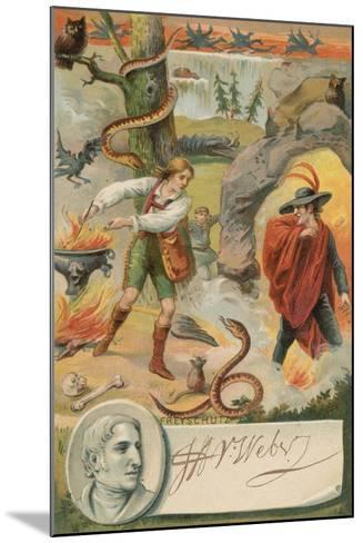Der Freischuetz--Mounted Giclee Print