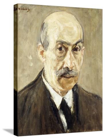 Self-Portrait-Max Liebermann-Stretched Canvas Print