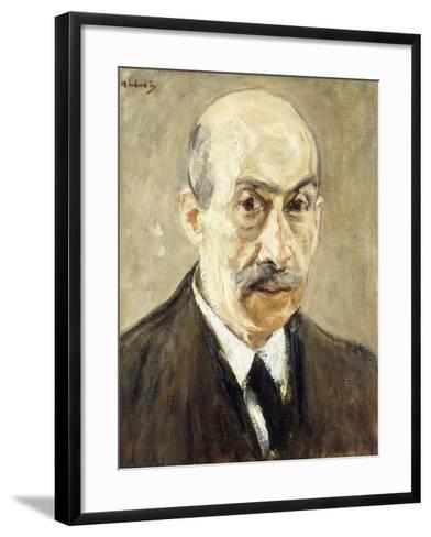 Self-Portrait-Max Liebermann-Framed Art Print