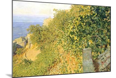 On Island of Elba-Telemaco Signorini-Mounted Giclee Print