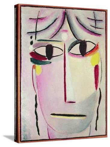 The Redeemer's Face, 1920-Alexej Von Jawlensky-Stretched Canvas Print