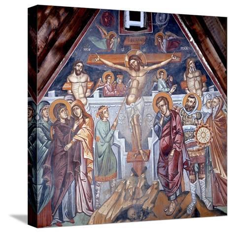 Crucifixion, Cretan School--Stretched Canvas Print