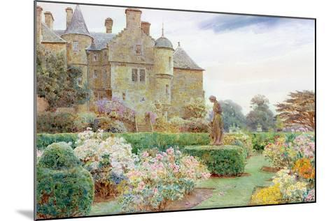 The Rose Garden, Balcaskie-George Samuel Elgood-Mounted Giclee Print