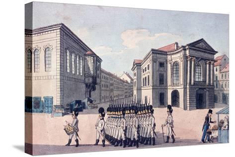 Estates Theatre, Prague, C.1810--Stretched Canvas Print