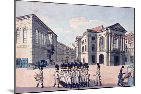 Estates Theatre, Prague, C.1810--Mounted Giclee Print