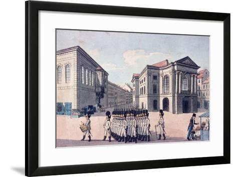 Estates Theatre, Prague, C.1810--Framed Art Print