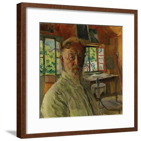 Self Portrait, 1931-Giovanni Giacometti-Framed Art Print