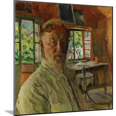 Self Portrait, 1931-Giovanni Giacometti-Mounted Giclee Print