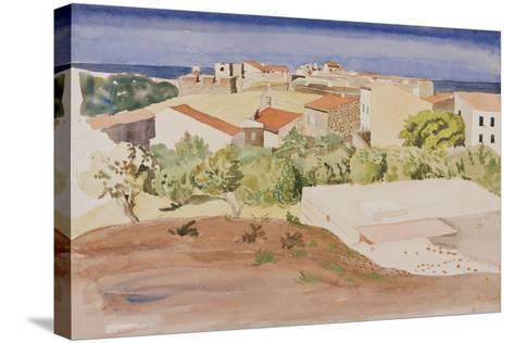 The Roofs of Collioure, C.1925-Rudolph Ihlee-Stretched Canvas Print
