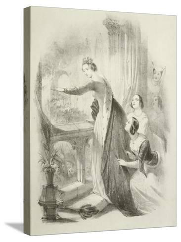 The Heroine of the Savoy-Joseph Nash-Stretched Canvas Print