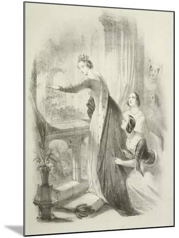 The Heroine of the Savoy-Joseph Nash-Mounted Giclee Print