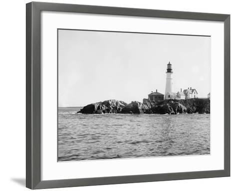 Portland Head Light, Portland, Maine, C.1900-10--Framed Art Print
