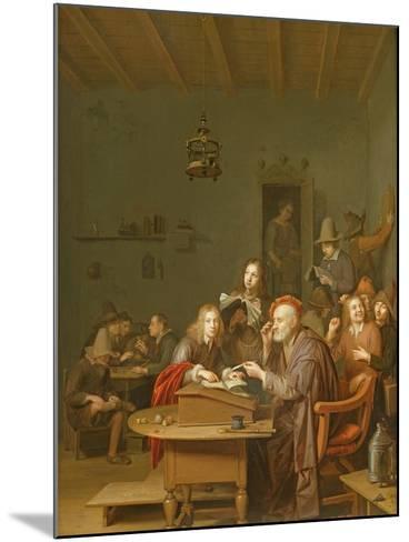 Interior of a School Room-Pieter Harmansz Verelst-Mounted Giclee Print
