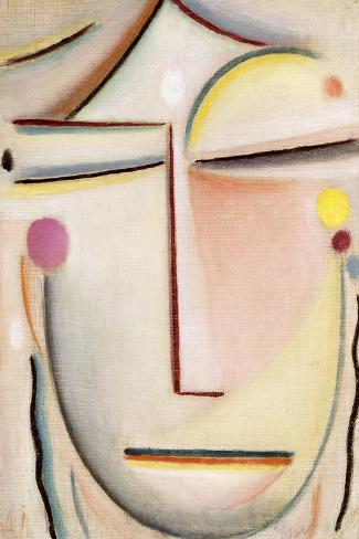 Abstract of a Head: Morning Light, C.1920-Alexej Von Jawlensky-Stretched Canvas Print